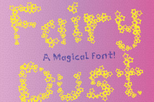 Print on Demand: Fairy Dust Display Font By GraphicsBam Fonts