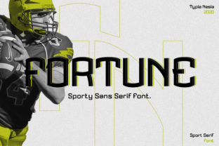 Print on Demand: Fortune Display Font By Typia Nesia