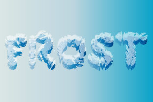 Print on Demand: Frost Display Font By GraphicsBam Fonts