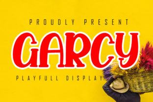 Print on Demand: Garcy Display Font By Skiiller Studio