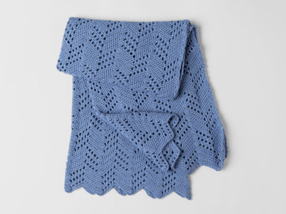 Hillside Blanket Crochet Pattern Graphic Crochet Patterns By Knit and Crochet Ever After - Image 4