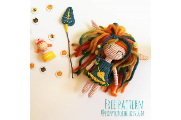 Jennis the Autumn Sprite Crochet Pattern Graphic Crochet Patterns By Needle Craft Patterns Freebies