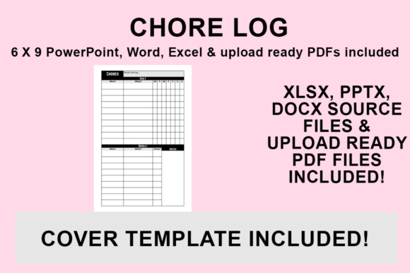 Print on Demand: KDP Interior - Chore Log Graphic KDP Interiors By Luke Bowes