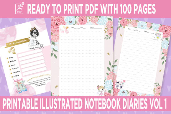 Print on Demand: KDP Interior Flourish Dotted Pages Vol.1 Graphic KDP Interiors By Queen Dreams Store