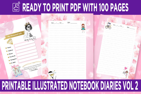 Print on Demand: KDP Interior Roses Dotted Pages Vol.2 Grafik KPD Innenseiten von Queen Dreams Store