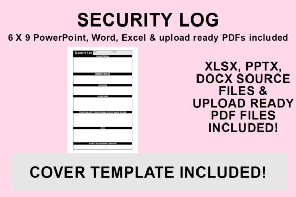 Print on Demand: KDP Interior - Security Log Graphic KDP Interiors By Bowes Publishing