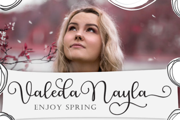 Print on Demand: Layla Layli Script & Handwritten Font By Sulthan Studio - Image 5