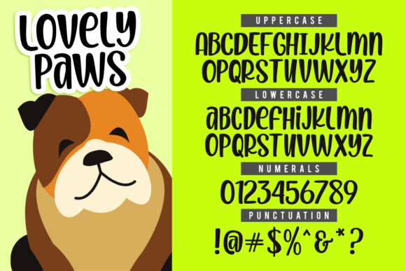 Print on Demand: Lovely Paws Script & Handwritten Font By estede75 - Image 2