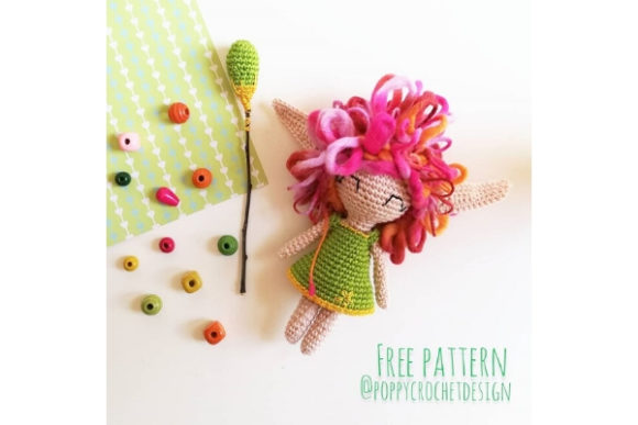 Luana the Spring Sprite Crochet Pattern Graphic Crochet Patterns By Needle Craft Patterns Freebies