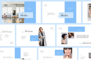 Print on Demand: Mirallas Brand Guidelines Powerpoint Graphic Presentation Templates By Giant Design