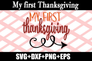 Print on Demand: My First Thanksgiving Graphic Print Templates By Design_store