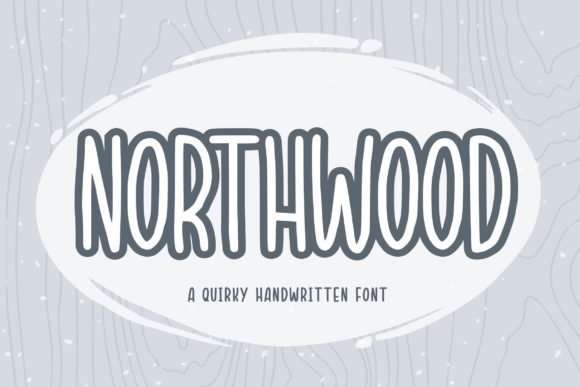 Print on Demand: Northwood Script & Handwritten Font By Balpirick