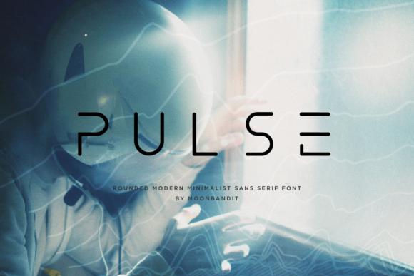 Print on Demand: Pulse Sans Serif Font By moonbandit