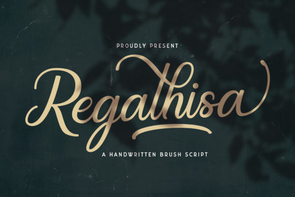 Print on Demand: Regalhisa Script & Handwritten Font By StringLabs