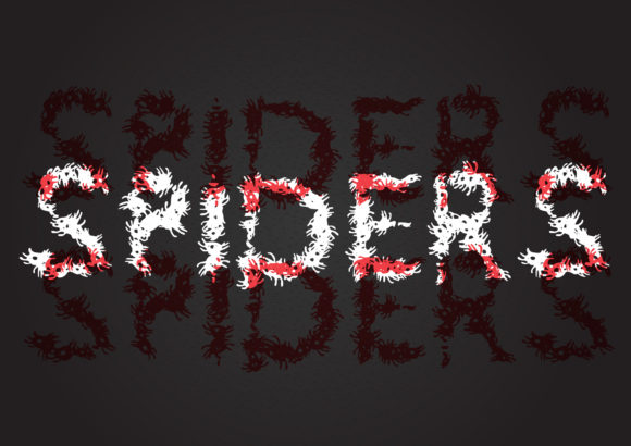 Print on Demand: Spiders Display Font By GraphicsBam Fonts