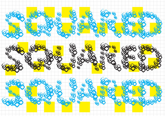 Print on Demand: Squared Display Font By GraphicsBam Fonts