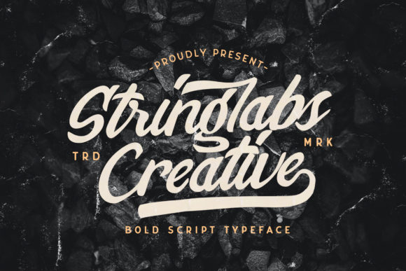 Print on Demand: Stringlabs Creative Script & Handwritten Font By StringLabs