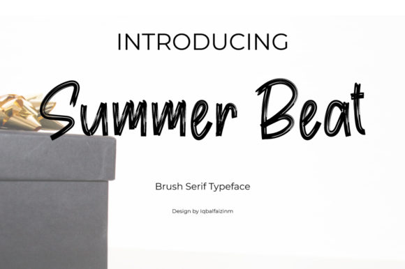 Print on Demand: Summer Beat Script & Handwritten Font By iqbalfaizinm
