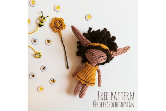 Sunny the Summer Sprite Crochet Pattern Graphic Crochet Patterns By Needle Craft Patterns Freebies - Image 1