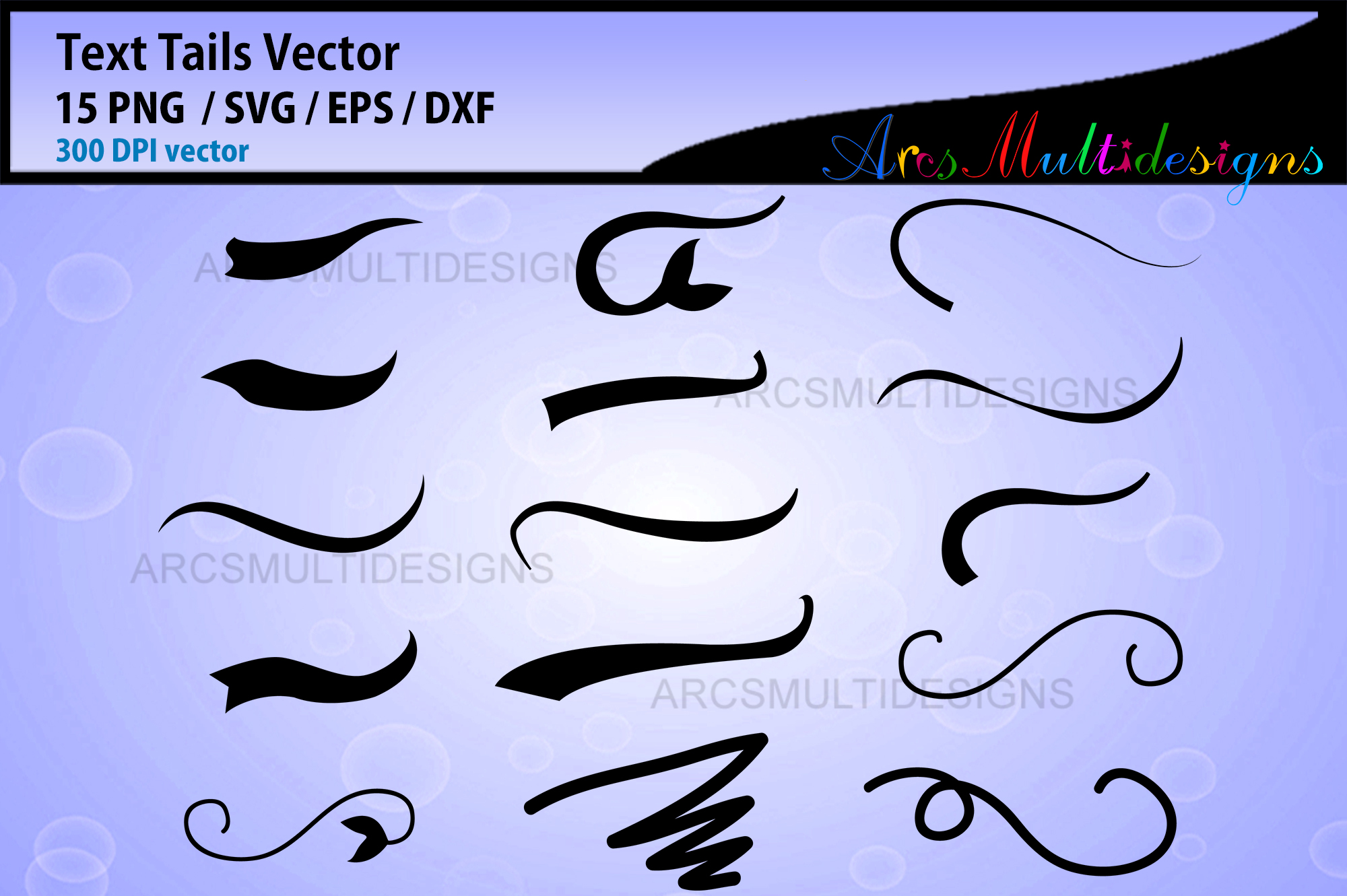 Download Free Text Font Tails Graphic By Arcs Multidesigns Creative Fabrica for Cricut Explore, Silhouette and other cutting machines.