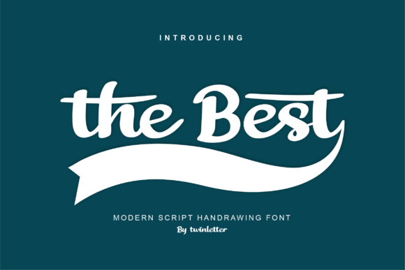 Print on Demand: The Best Script & Handwritten Font By twinletter