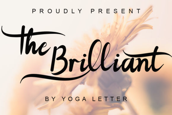 The Brilliant Font Free Download