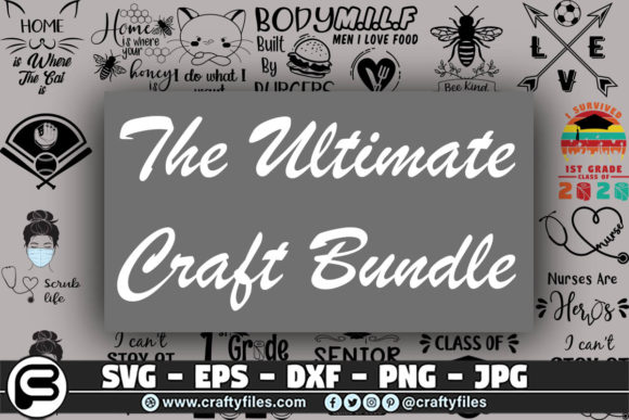 The Ultimate Craft Bundle  By Crafty Files
