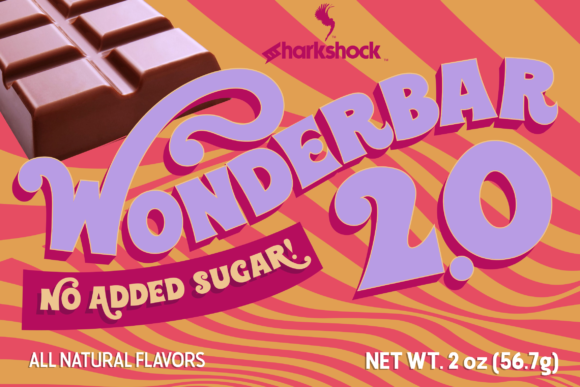 Print on Demand: Wonderbar 2.0 Display Font By Sharkshock - Image 1