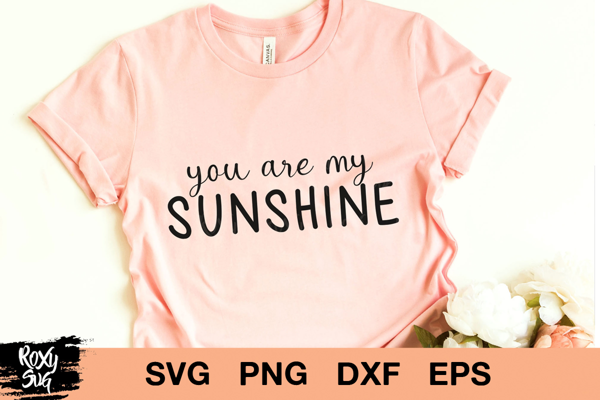 Download Free You Are My Sunshine Graphic By Roxysvg26 Creative Fabrica for Cricut Explore, Silhouette and other cutting machines.