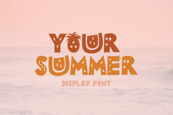 Print on Demand: Your Summer Display Font By Caoca Studios