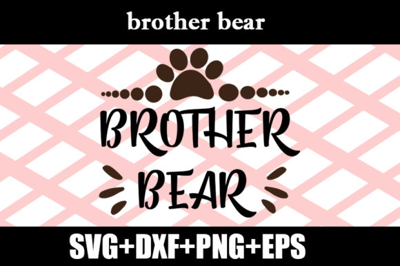 Print on Demand: Brother Bear Graphic Print Templates By Design_store