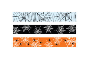Halloween Spider Web Ribbons Halloween Craft Cut File By Creative Fabrica Crafts