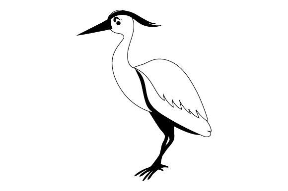 Heron Animals Craft Cut File By Creative Fabrica Crafts - Image 2