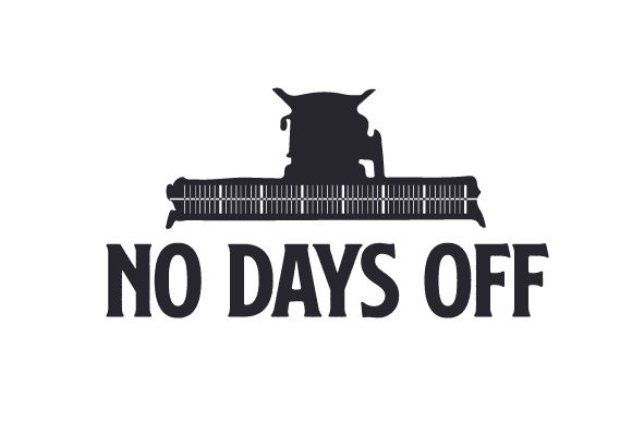 No Days off Farm & Country Craft Cut File By Creative Fabrica Crafts - Image 1