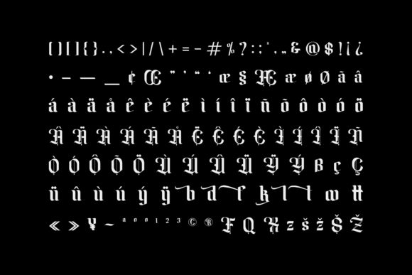 Amika Font Preview