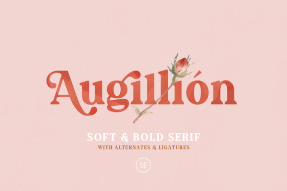 Print on Demand: Augillion Serif Font By saridezra - Image 1