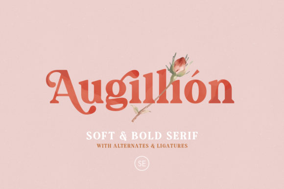 Print on Demand: Augillion Serif Font By saridezra - Image 12