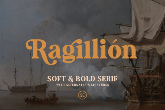 Print on Demand: Augillion Serif Font By saridezra - Image 2