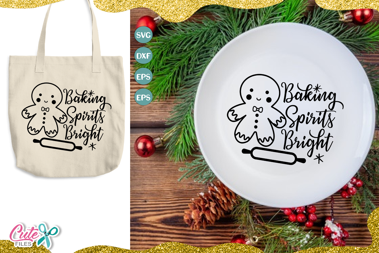 Download Free Baking Spirits Bright Cut File Graphic By Cute Files Creative SVG Cut Files