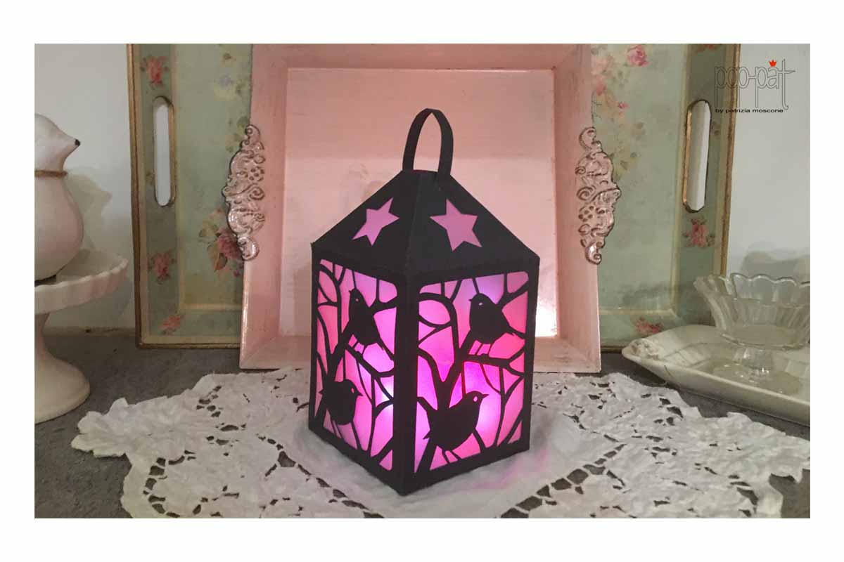 Download Free Bird Lantern Graphic By Patrizia Moscone Creative Fabrica for Cricut Explore, Silhouette and other cutting machines.