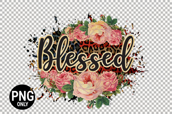 Print on Demand: Blessed Fall Sublimation Design Graphic Print Templates By 99 Siam Vector