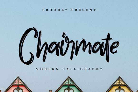 Print on Demand: Chairmate Script & Handwritten Font By EdricStudio