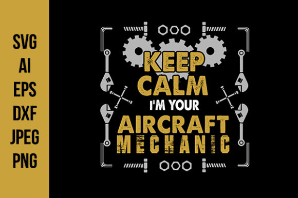 Print on Demand: Coffee & Mechanic Good for Print Design Graphic Crafts By Tosca Digital