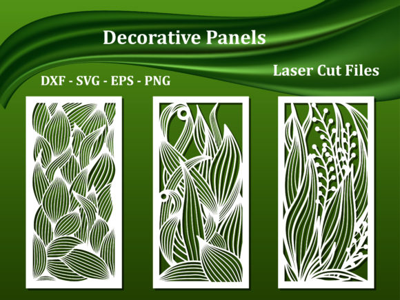 Decorative Wall Panels Graphic Crafts By AmarylleArt