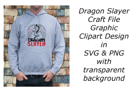 Print on Demand: Dragon Slayer Graphic Craft File Graphic Crafts By A Design in Time