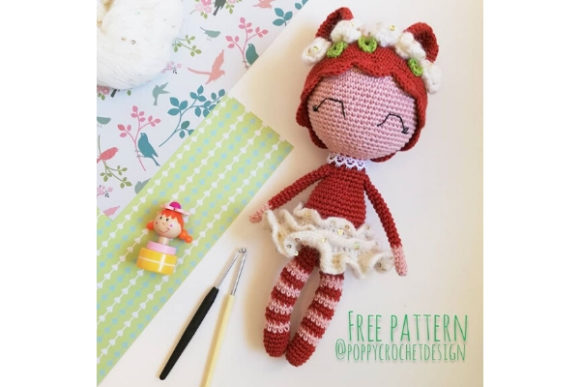 Flora the Foxy Lady Crochet Pattern Graphic Crochet Patterns By Needle Craft Patterns Freebies