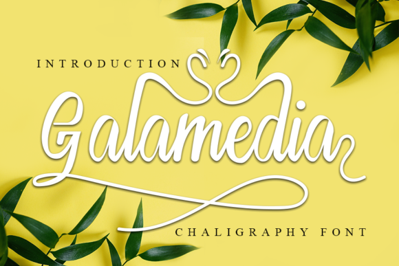 Print on Demand: Galamedia Script & Handwritten Font By ONE DESIGN