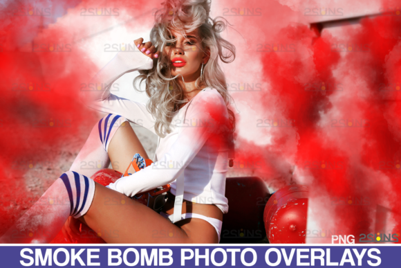 Gender Reveal Smoke Overlays Graphic Actions & Presets By 2SUNS
