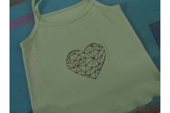 Heart Valentine's Day Embroidery Design By ImilovaCreations