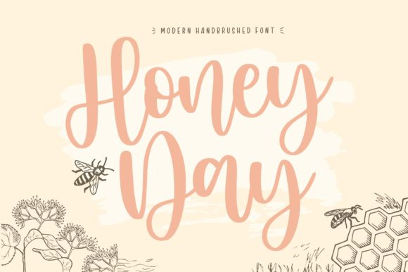 Print on Demand: Honey Day Script & Handwritten Font By Balpirick